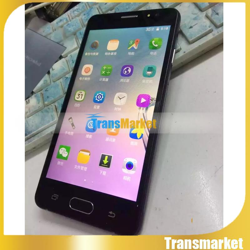 100% nuevo 5.0Inch A5 teléfonos MTk6580 Quad Core Desbloqueo Teléfono 4GB ROM Fábrica de teléfonos celulares baratos directamente Cámara dual Wifi con logotipo Caja sellada