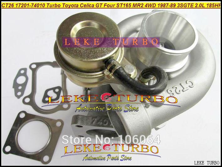 CT26 17201-74010 Turbo Turbocharger For TOYOTA Celica GT Four ST165 MR2 4WD 1987-89 3SGTE 2.0L 185HP 204HP (5)