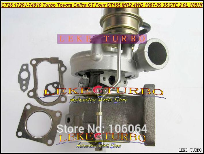 CT26 17201-74010 Turbo Turbocharger For TOYOTA Celica GT Four ST165 MR2 4WD 1987-89 3SGTE 2.0L 185HP 204HP (3)
