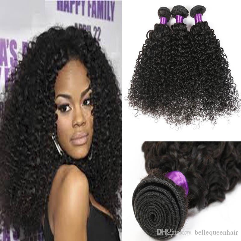 Peruvian Virgin Hair Kinky Curly Weave 3 Bundles Peruvian Human Hair