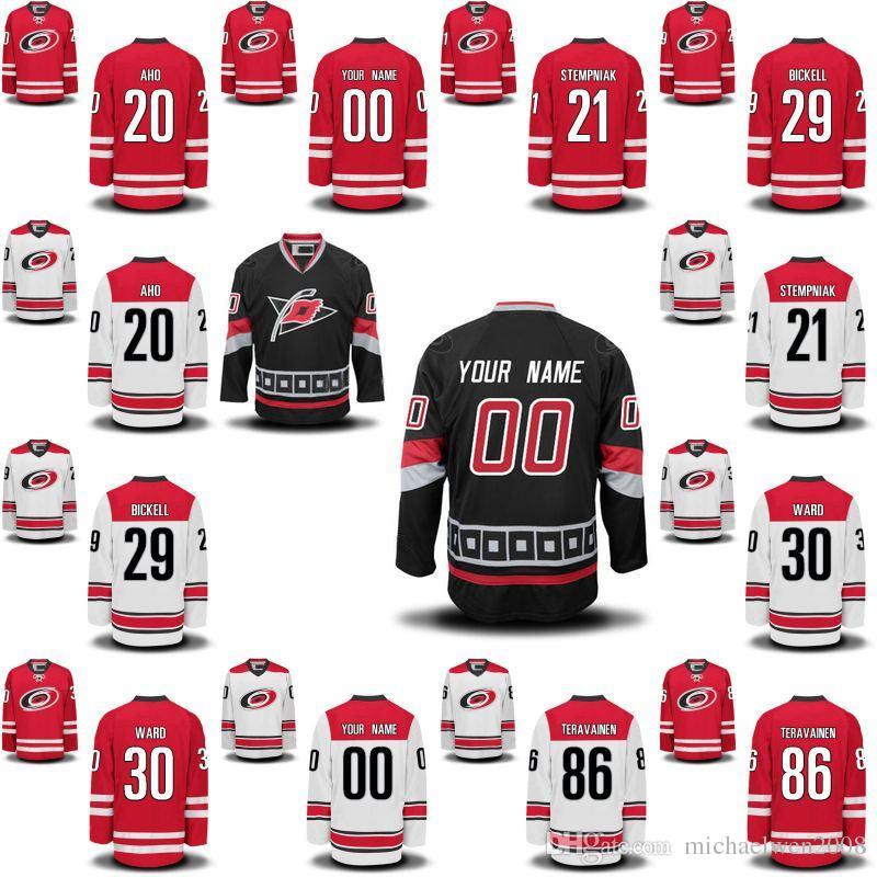2019 Mens Womens Youth Carolina Hurricanes 86 Teuvo Teravainen 23 Brock  McGinn 11 Staal 7 Derek Ryan 49 Victor Rask Custom Hockey Jerseys Cheap  From ... 43f08b63e