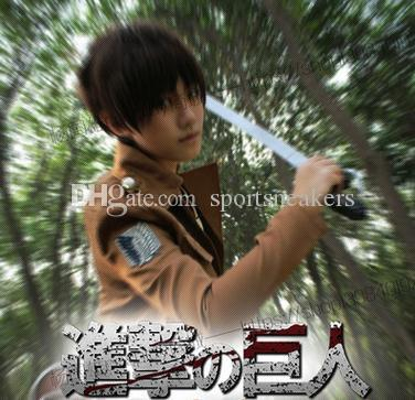 Attack on Titan cosplay anime costume giant onslaught The Corps soldiers survey Mikasa / uniforms COS anime jacket