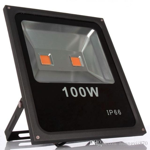 Led Flood Light Spectrum: Full Spectrum Led Grow Light 100W Led Flood Light IP65