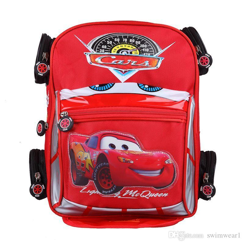 Good Quality 3d Car Backpack School Bag Children Character Car ...