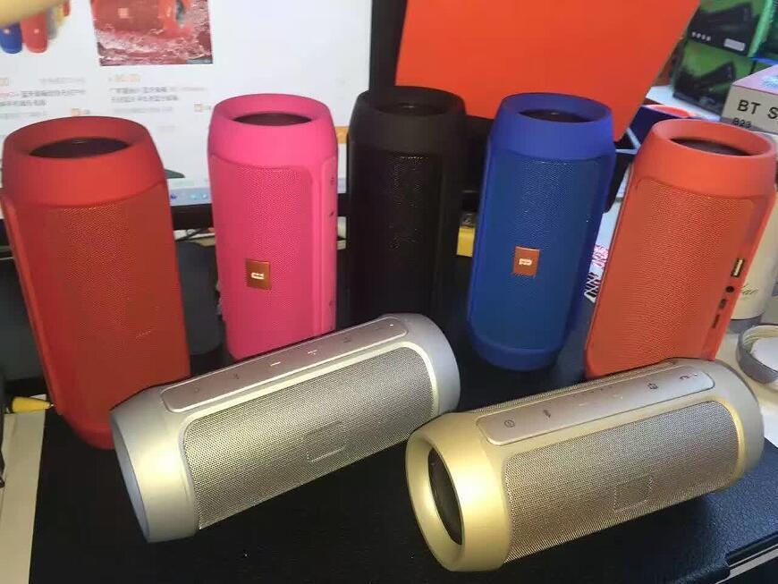 New Arrive Charge 2+ Bluetooth Outdoor speaker phone call Mini Speaker Waterproof Bluetooth Speakers Can Be Used As Power Bank