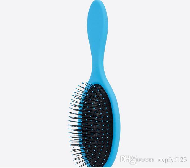 젖은 머리카락 샤워 브러시 B537에 대 한 에어백 콤브와 젖은 머리카락 브러쉬 Detangler 머리 브러쉬 마사지 빗