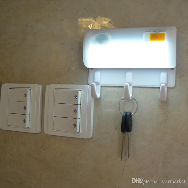 XYD01 1W PIR Motion Sensor Wireless LED Nightlight Lamp 2leds Closet Light Lightcontrol Lamp for Hallway Pathway Magnetic Lamp Wall Lights