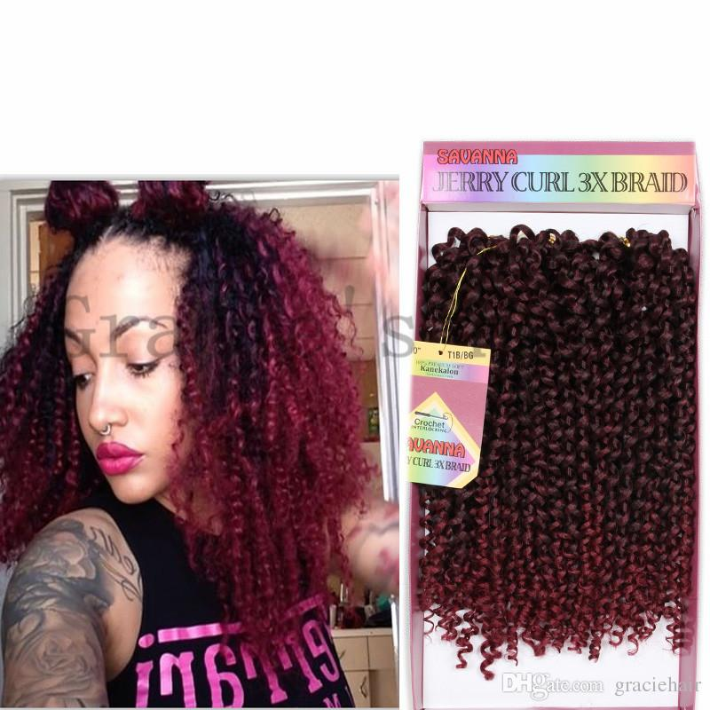 2018 Kanekalon Hair Extensions Synthetic Crochet Braids Twist