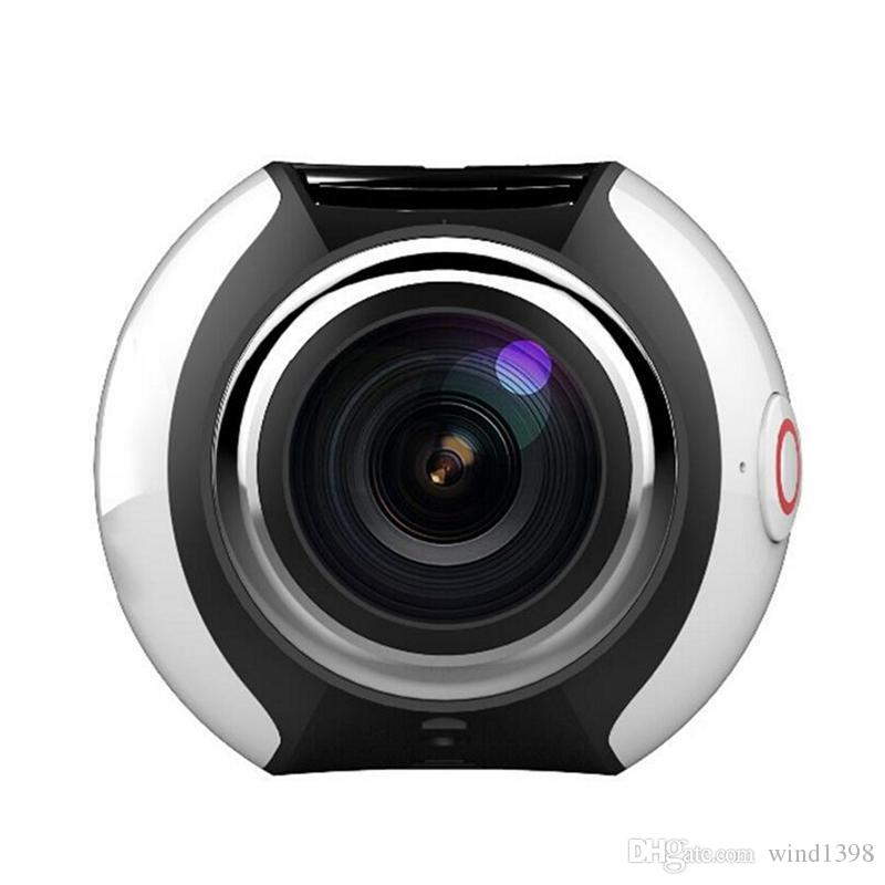 High quality V1 360 degree panoramic sports camera mini 3D wifi sports DV 4K full HD 30m waterproof outdoor action video cameras