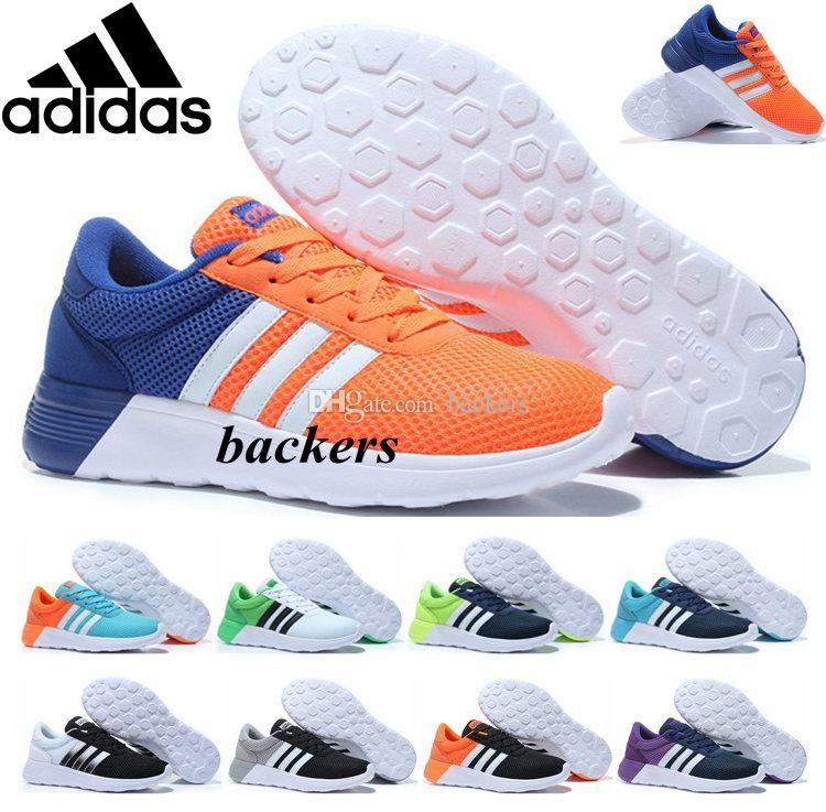 promo code d413b cdee2 Originals Adidas Neo Mesh Running Shoes Sports For Men Women Shoe Summer  Cheap Original Run Sneakers White Orange Size 36 45 Running Clothes Sports  Shoes ...