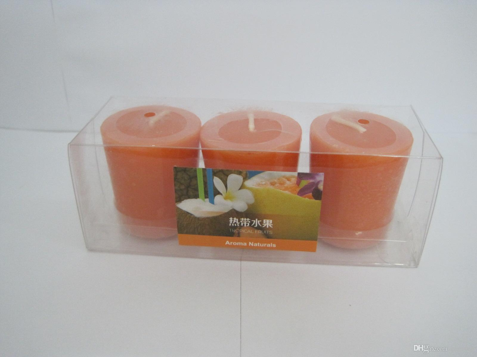 10 Hours Scented Candles Pillar Candle With A Variety Of Fragrance,Aroma Paraffin Wax Aromatherapy Candles In pack Product Code:75-1005