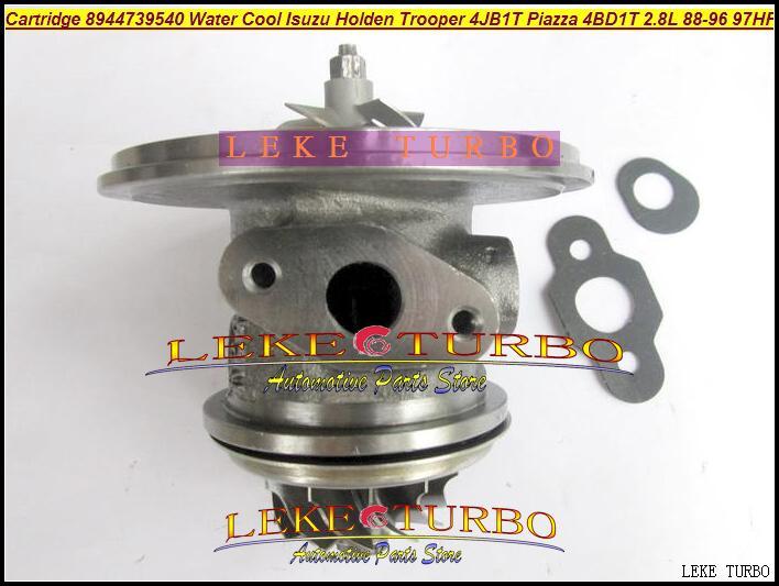 RHB5 VI58 8944739540 Water Cooled Turbocharger Cartridge Turbo Chra Core ISUZU Holden Trooper 4JB1T PIAZZA 4BD1T 2.8L 1988-96 97HP (4)