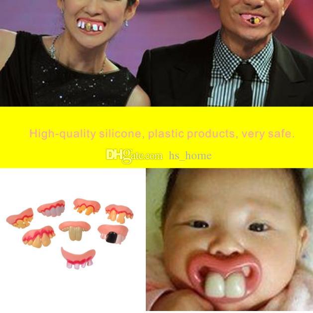 Yeşil Parlayan Stil Protez Cadılar Bayramı Korku Dişleri Sahne Yüksek Kaliteli Silikon + plastik Ürünler, Çok Güvenli Yetişkin Çocuk Kullanabilir.