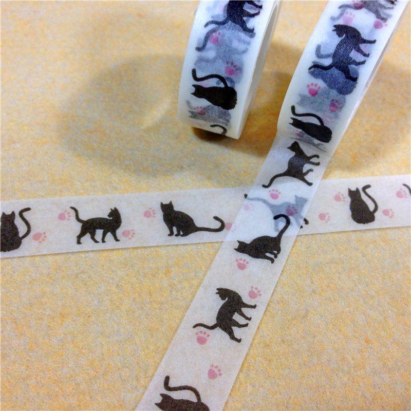 Nastri adesivi 15mm * 15m Adesivo monofacciale washi tape materiale scolastico di cancelleria 2016 nuovo arrivo 2