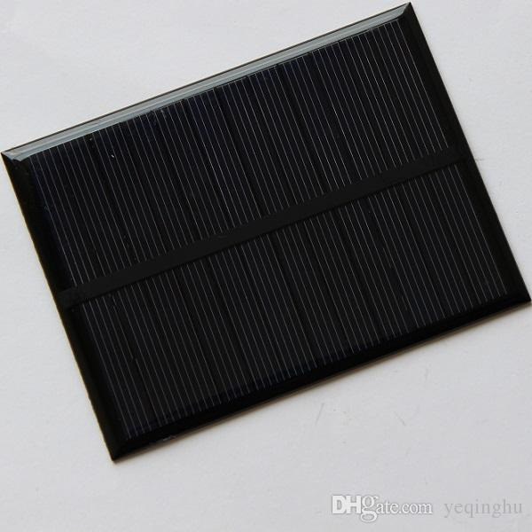 HEIßE Hohe Qualität 1,2 Watt 6 V Kleine Solarzellen Pochinese Silizium Solarzellen DIY Solarzelle Modul Pädagogische Kits Epoxy Kostenloser Versand