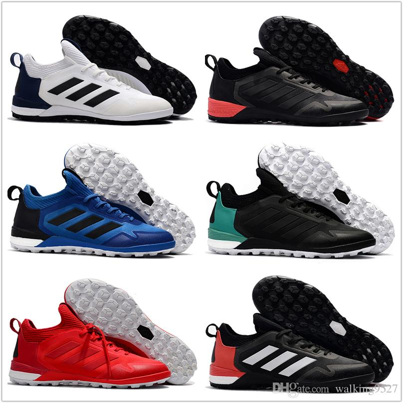 Wholesale 2017 Adidas ACE Tango 17+ Purecontrol TF Cheap Indoor Soccer  Shoes Football Boots Low MenS Soccer Cleats Turf Futsal Running Shoes for Men  Adidas ...