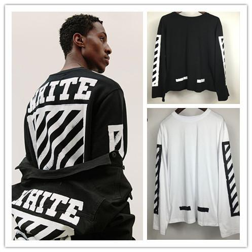 Off White T Shirt Men Women 2016 Autumn High Quality Virgil Abloh ...