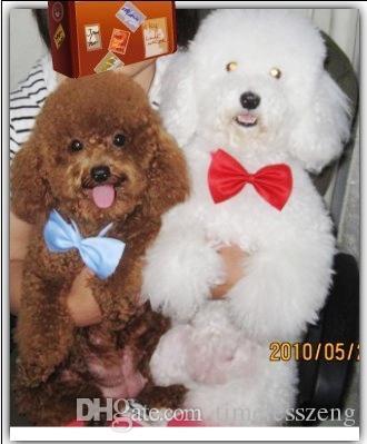 600 unids / lote Venta de Fábrica Nueva Colorida Hecha A Mano Ajustable Perro Mascota Corbata mariposa Pajaritas Gato Corbatas Perro Que Aseo Suministros