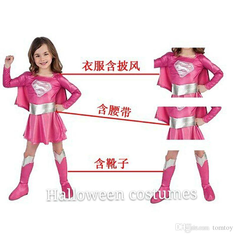 Children\'S Halloween Costumes, Cosplay Superman Outfit Children ...