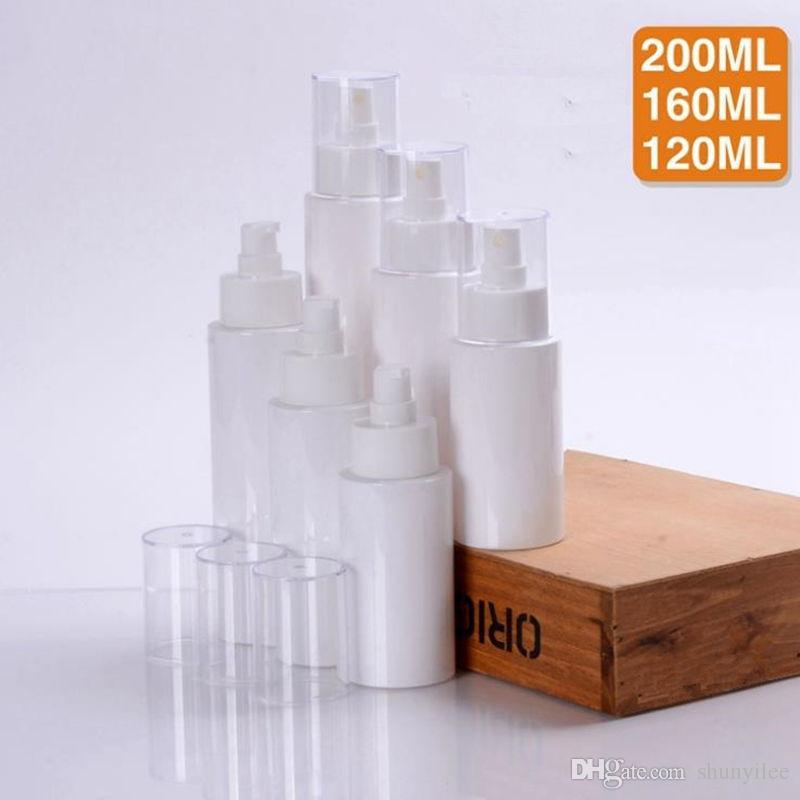 120ml / 160ml / 200ml Pusta plastikowa butelka rozpylacza, Mały atomizer Pet, Perfumy Próbka Pojemnik Szybka Wysyłka F20172176