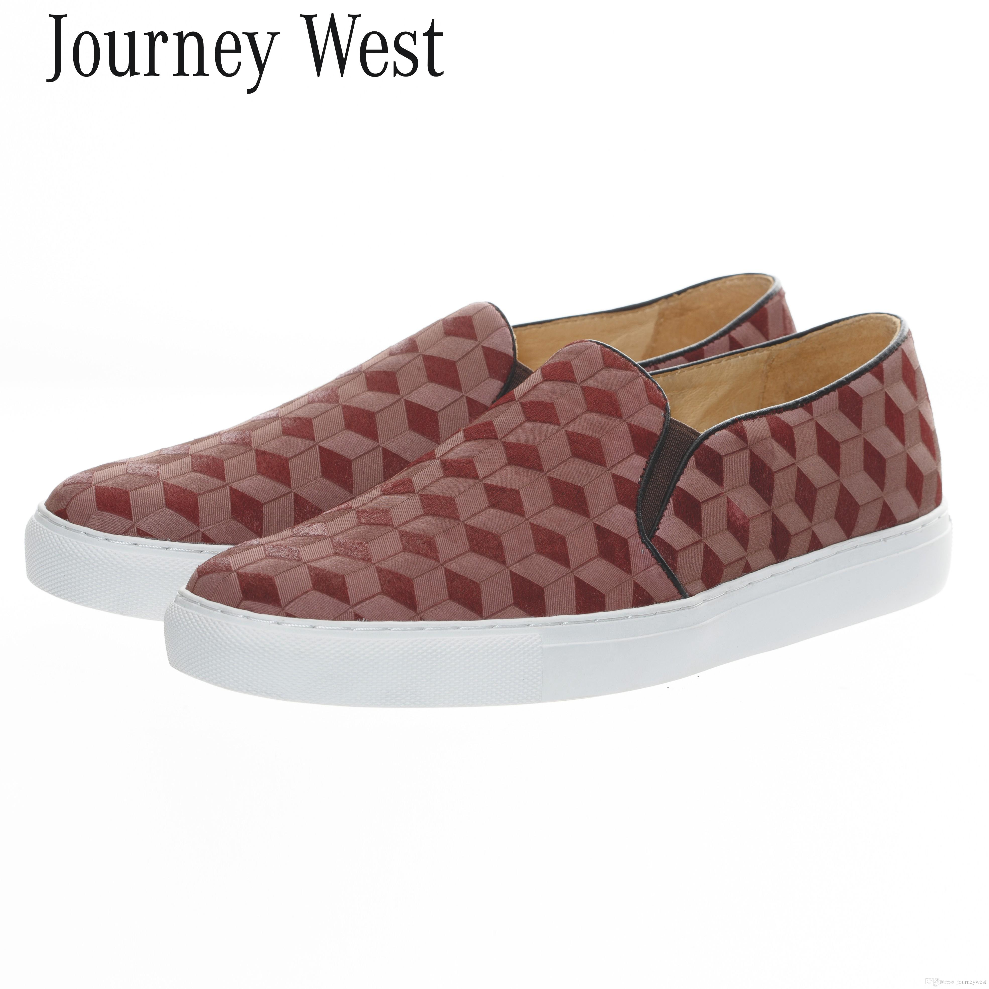 503787c28c0 Handmade Red Horsehair Fashion Sneakers Men Leather Loafers Slip On Men S  Flats Casual Shoes Luxury Designer Laser Engraving Shoes US 6 13 Slip On  Shoes ...