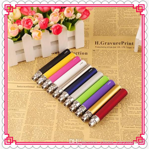 Top Quality ego-t Battery Electronic Cigarette E-cig Ego Battery match CE4 CE5 clearomizer CE6 650mah 900mah 1100mah battery