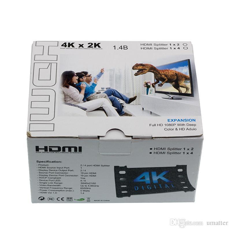 Komponenten Videokabel Hdmi Spliter 2 Port 1,4 Hdmi Splitter 3d 1x2 ...
