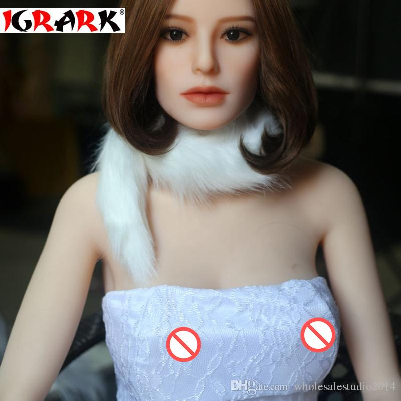 igrark Real doll Silicone Sex Dolls para hombres, 165cm158cm140cm realista Doll reborn Rubber Woman, Big Breast Ass Vagina juguetes para la venta