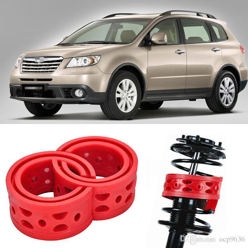 2 unids Super Power Rear Car Auto Parts Amortiguador Spring Bumper Power Cojín amortiguador especial para Subaru Tribeca