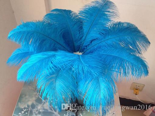 Wholesale 10-24inch/25-60cm Sky Blue Ostrich feather for wedding centerpiece party decoraction event festive decor supply TNM-00021