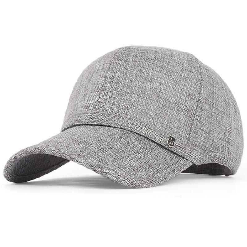 134a34c2e14f7 Hot Summer Linen Sun Hat Men Sports Outdoor Sun Protection Fashion Baseball  Cap Flexfit Strapback Large Brim Baseball Cap Flat Cap From Lin and zhang