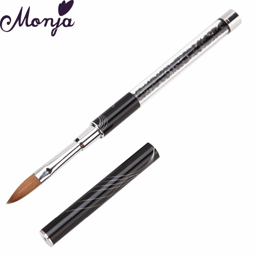 Wholesale Nail Art Pen Brushes Sable Painting Drawing Uv Gel Crystal