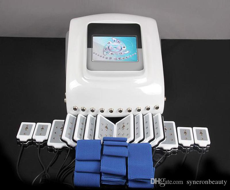 Высочайшее качество Липолязер для похудения Lipo Laser / 14 прокладок 650 нм Диодная лазерная удаление жира Липолязер Диодная тонкая для дома и салона