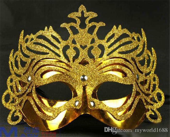 heißer verkauf bester preis maskerade masken sexy venezianische partei maske halloween requisiten gesichtsmasken frauen halbes gesicht halloween maske für frauen