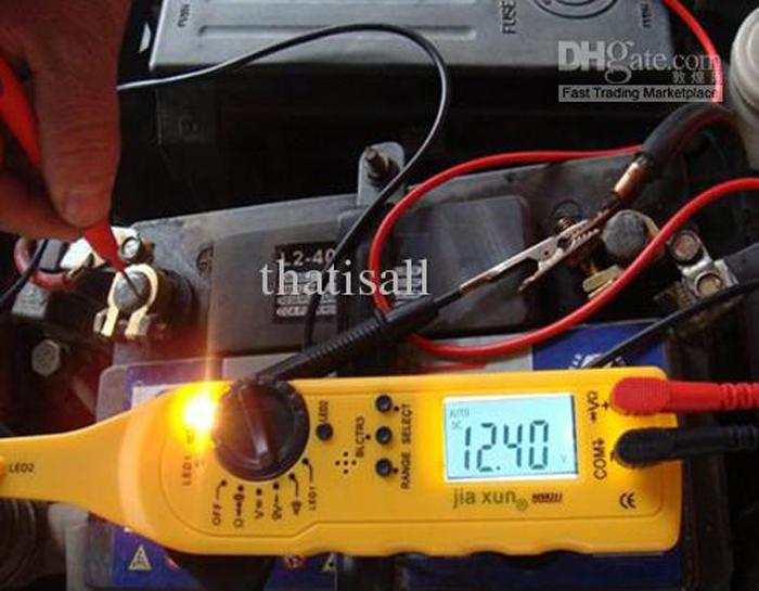 test in narrow area Automobile multimeter Auto Car Electric test Tool circuit tester