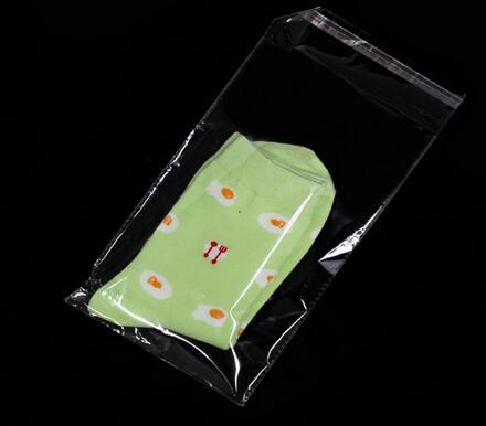 Borsa cellophane 9x15 cm con sigillo autoadesivo opp poly sacchetti il doppio all'ingrosso