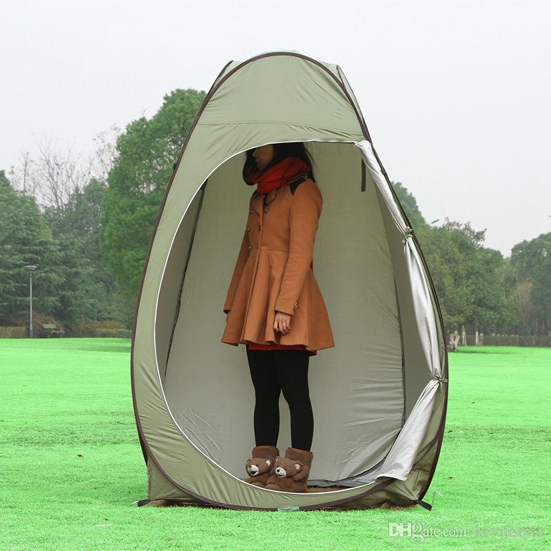 Portable Shelter Camping Tent Move Privacy Bathing Toilet ...