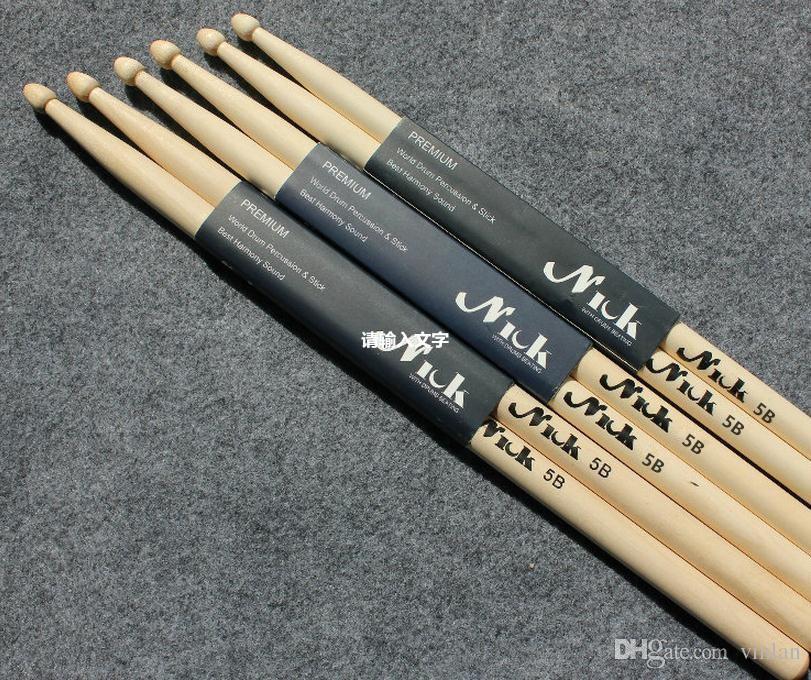 Maple drumrolls 5B electronic rack drum sticks jazz drum set sticks Musical instrument accessories