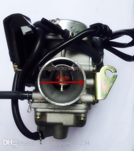 Carburetor Carb 24mm GY6 4 stroke 110CC 125cc 150cc ATV Go Kart and Scoote