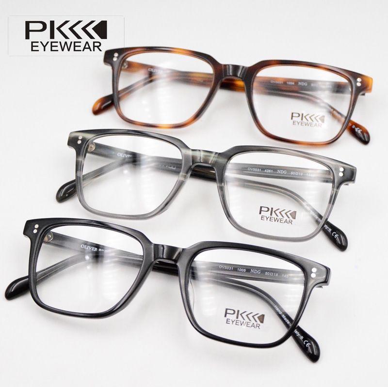 1ce3cc2149 2019 Italy Design Glasses Brand Designer 2017 Retro Round Ov5031 NDG Eyewear  Glasses Frame With Original Cases From Bausglasses