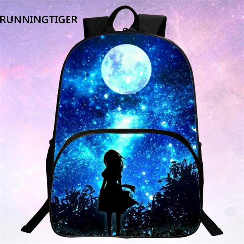 1daf955f733 Runningtiger Children School Bags Galaxy  Universe  Space Printing Backpack  For Teeange Girls Boys Star Schoolbags School Bags For Girls Backpacks For  ...