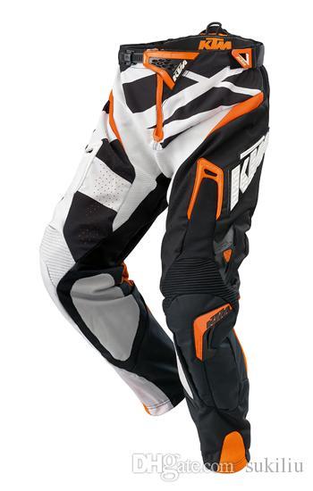 Kostenloser Versand TOP KTM Racetech BMX Motorrad Motocross Racing Off-Road-Schutzrüstung Hosen, Motorrad-Hose