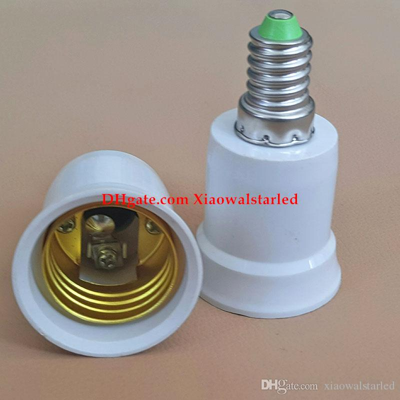 E27 to E14 Base LED Light Lamp Bulb Adapter Converter Screw Socket E14 To E27 Light Bulb Lamp Holder Socket Adapter Converter