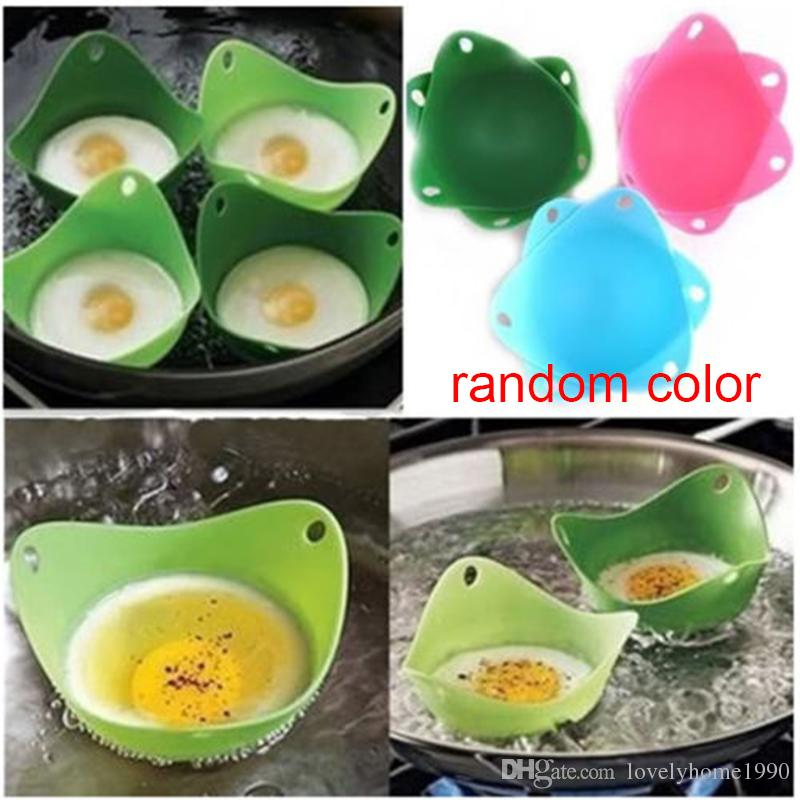 Silicone Egg Poacher Cook Poach Pods Kitchen Cookware Poached Baking Cup