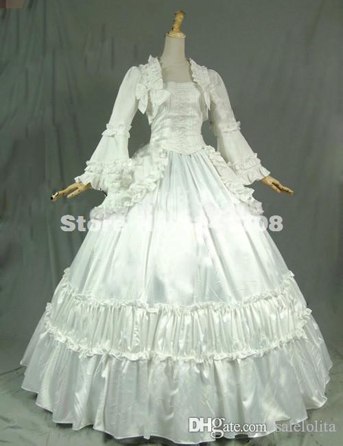 Brand New Vintage Victorian Gothic Steampunk Ball Gown Wedding Dress ...