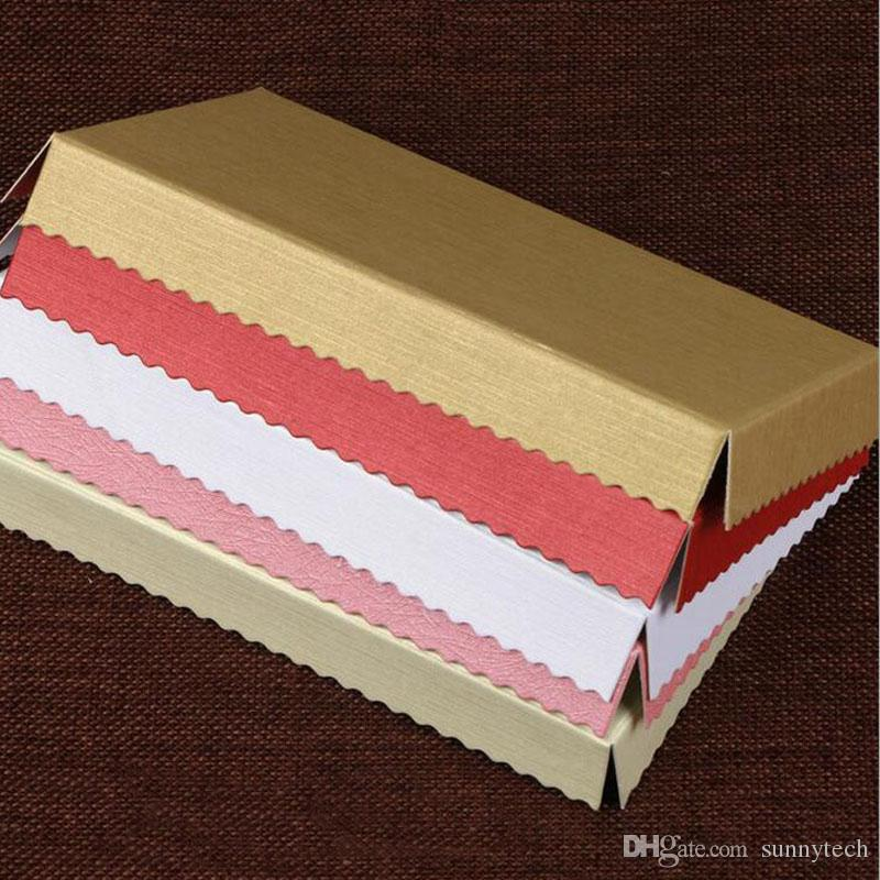 La scatola di plastica del dolce del rotolo delle scatole del bigné del PVC della radura semplice con il pacchetto di cottura della maniglia DIY libera il trasporto ZA5018