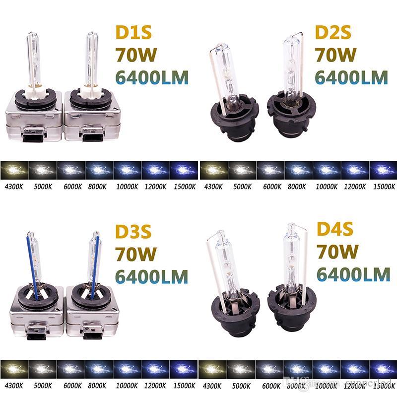 تصميم جديد HID زينون D1S D1R D2S D2R D3S D3R D4S D4RXenon HID لمبة ضوء السيارة 12 فولت 35 واط 3000 كيلو 6000 كيلو 8000 كيلو 10000 كيلو