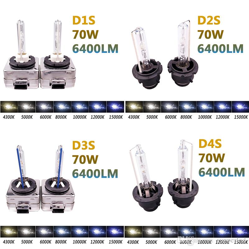 Novo design Xenon HID D1S D1R D2S D2R D3S D4R D4S D4RXenon HID Lâmpada do carro Luz 12 v 35 W 3000 K 6000 K 8000 K 10000 K