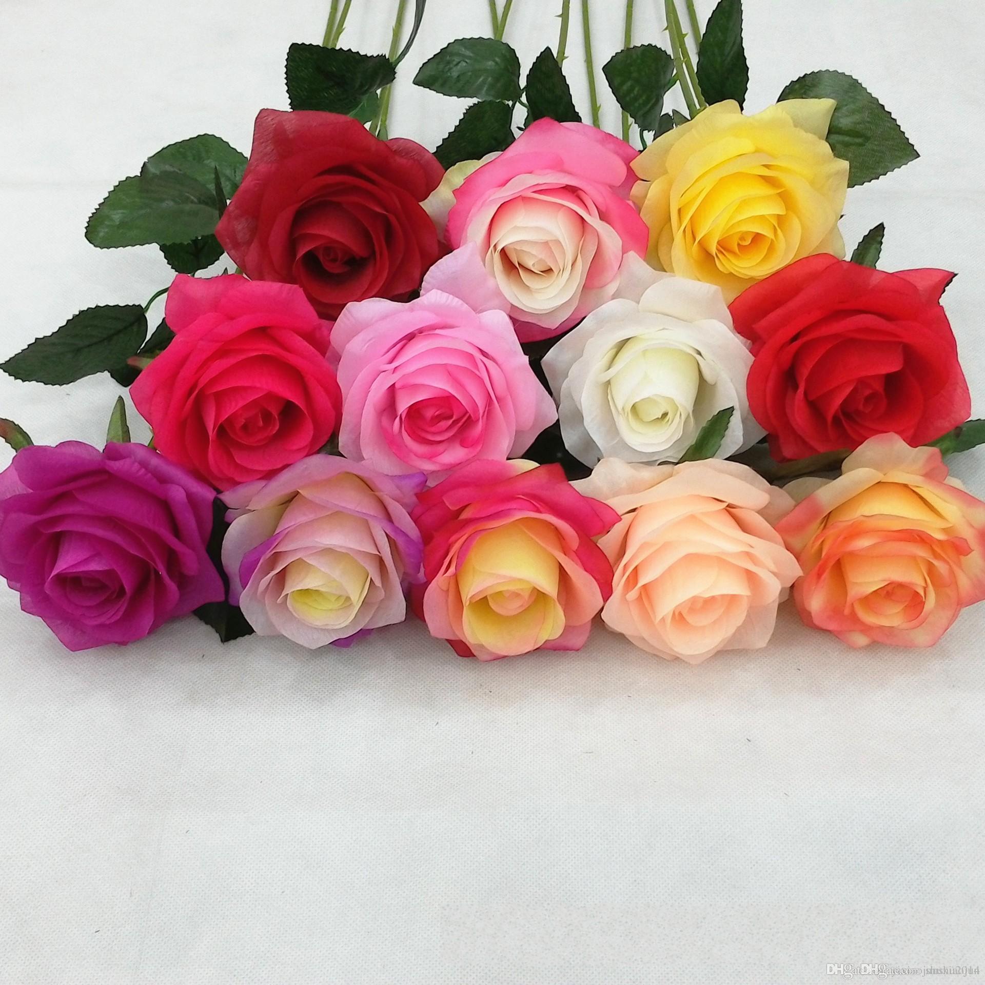 Buy Artificial Hydrangea Flower 65cm26 Fake Silk Single Hydrangeas