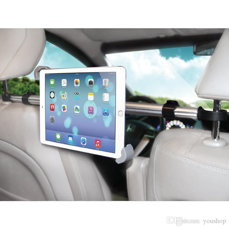 Universal Tablet Encostos Mount Cradle Car Back Seat montar titular para ipad Pro 9.7 para Todos 11/07 polegadas Tablet PC